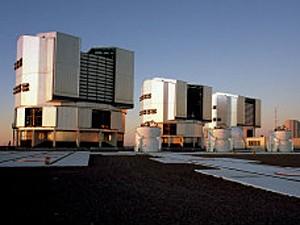 VLT telescópio (Foto: ESO/Divulgação)