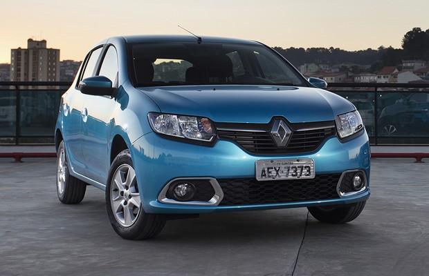 Renault Sandero 2015 (Foto: Fabio Aro/Autoesporte)