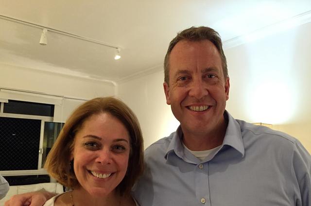 Sandra Coutinho e  Jim Story  (Foto: Divulgação)