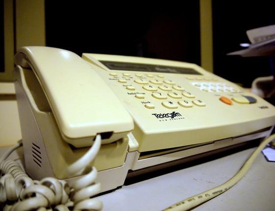 Aparelho de fax (Foto: Yortw/Flickr/CC BY 2.0)