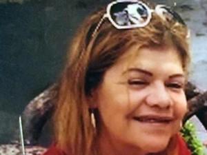 A aposentada Terezinha Barbosa foi encontrada enterrada dentro de casa em Itanhaém, SP (Foto: Reprodução/TV Tribuna)
