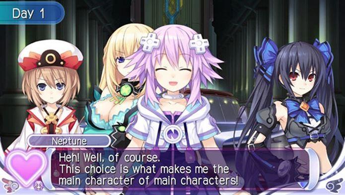 Garotas de Hyperdimension Neptunia tem nomes inspirados em consoles de videogame (Foto: Divulgação)