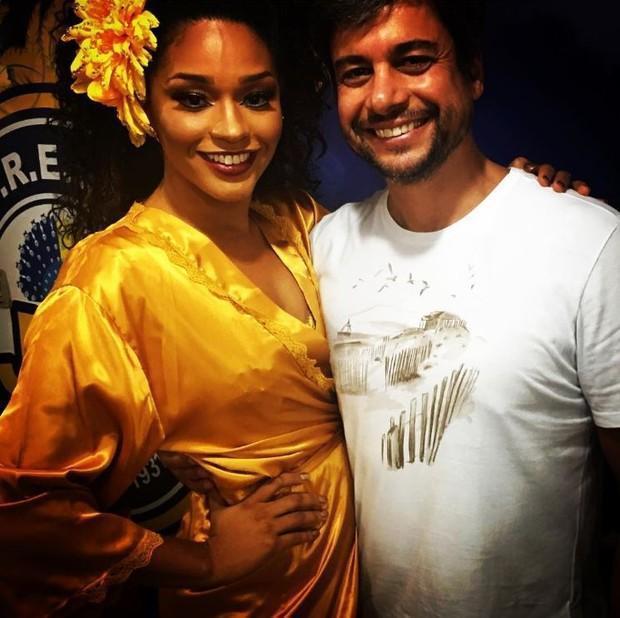 Juliana Alves e Ernani Nunes vão ser papais (Foto: Reprodução/Instagram)