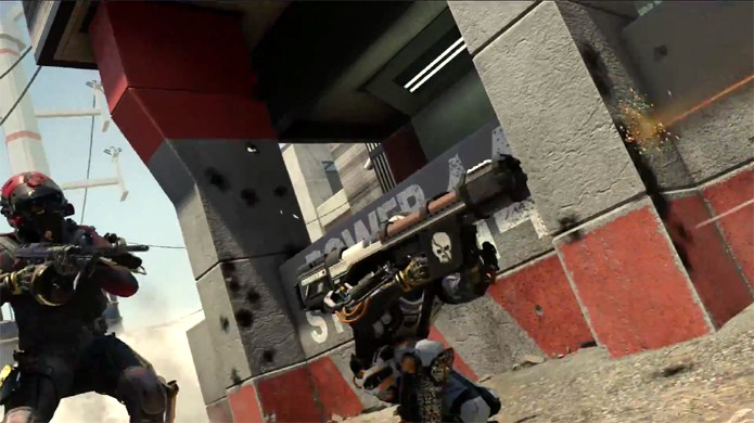 Call of Duty: Advanced Warfare traz uma avançada guerra futurista para a franquia (Foto: Reprodução: YouTube)