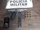 PM de Pará de Minas encontra droga e munição na casa de adolescente