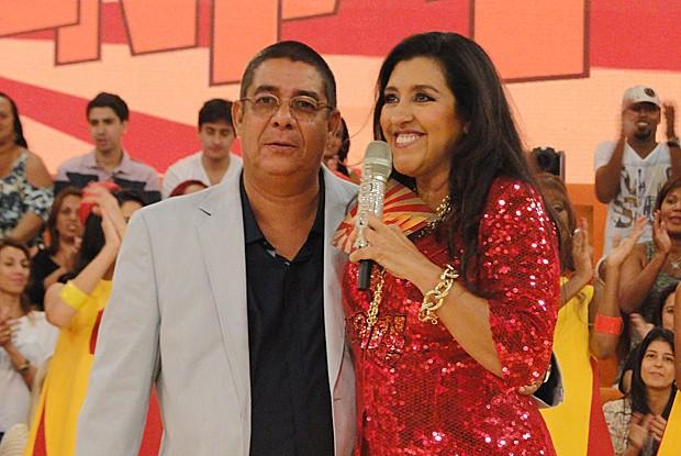 Zeca Pagodinho é o convidado especial do Esquenta! (Foto: Esquenta! / TV Globo)