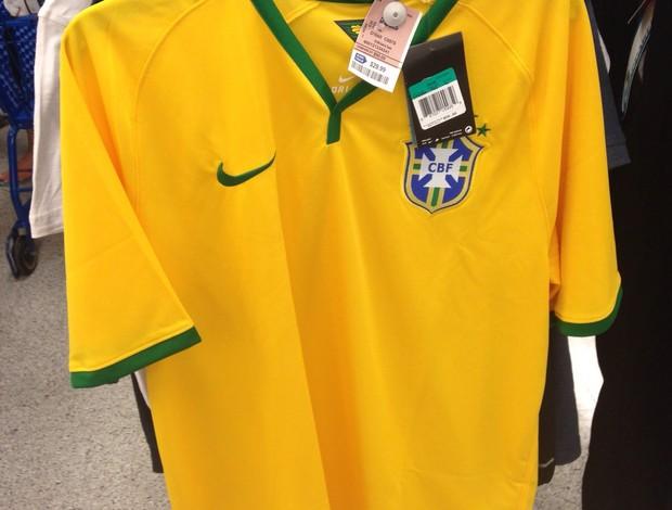 Camisa da seleção brasileira em promoção ... 6fa40488e30cb