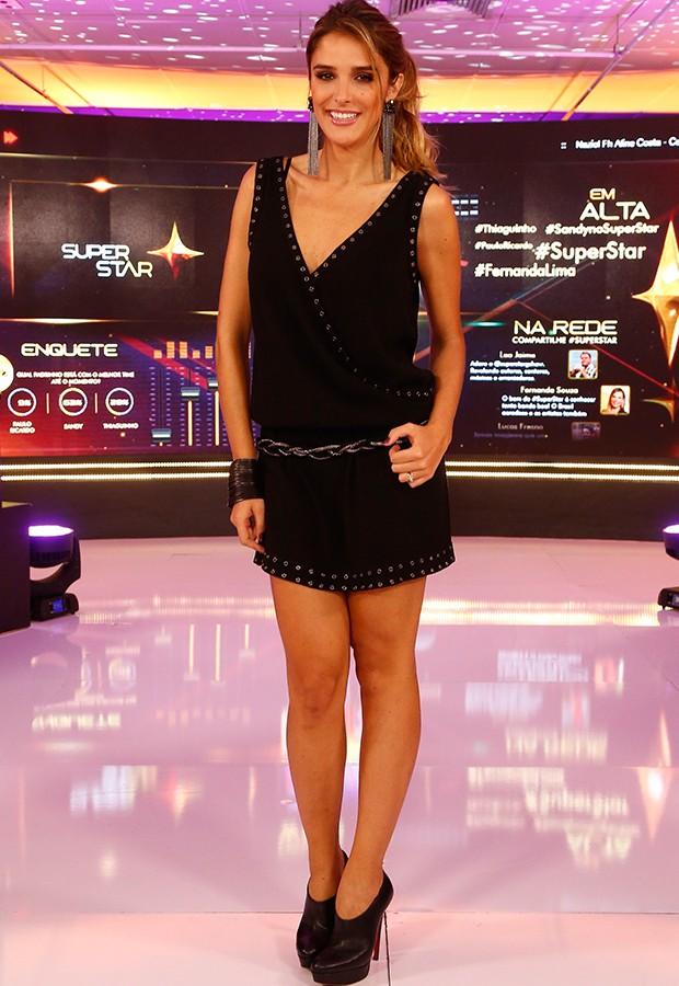 Rafa Brites escolhe vestido e botas para última Audição (Foto: Raphael Dias)
