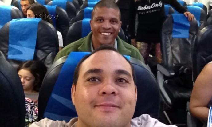 Diretor assistente Diogo Oliveira conta como foi viagem com Edvaldo Valério até Sydney (Foto: Divulgação)