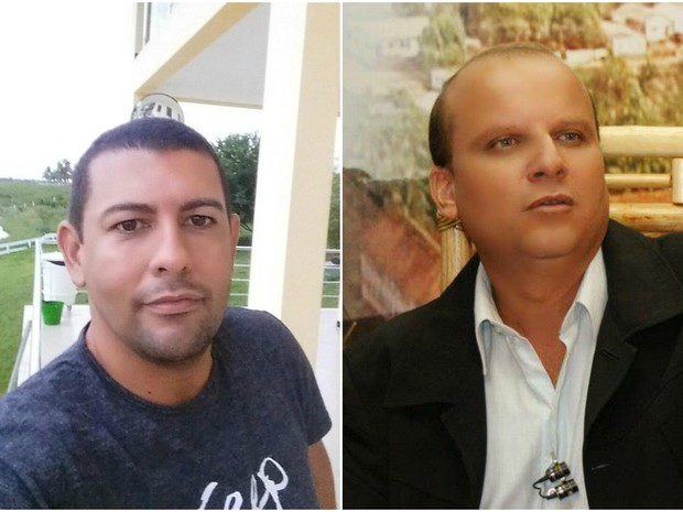 O chefe do gabinete do prefeito de Cruzeiro do Sul, Mario Neto, (à esquerda) e Edmar Paula, dirigente do PSDB (à esquerda) foram presos  (Foto: Reprodução/Facebook)