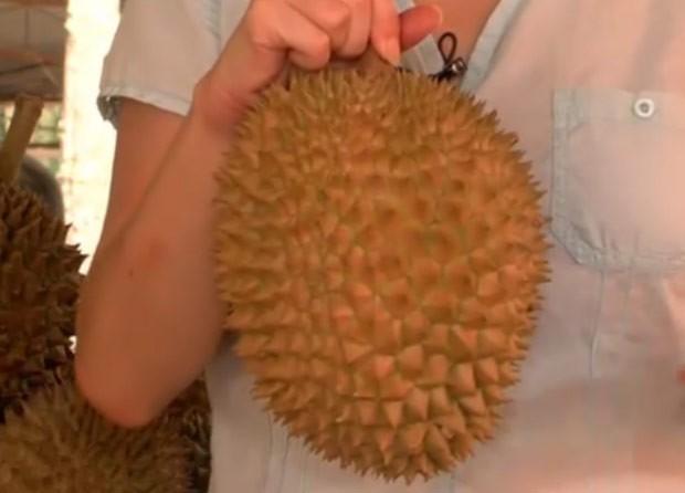 A durian (Foto: BBC)