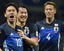 Kagawa comanda goleada e Japão fecha segunda fase como líder do grupo