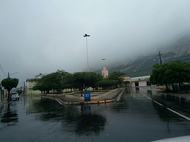 Em Patu choveu milímetros (Foto: Bruno Campelo)
