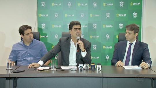 Prefeito anuncia fim de intervenção em concessionária de água em Cuiabá