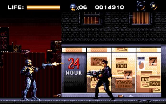 RoboCop Versus The Terminator (Foto: Reprodução/Strange Kids Club)