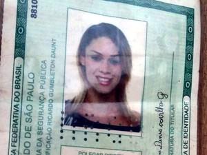 Travesti foi identificada como Walisson Denis de Carvalho Gonçalves (Foto: João Paulo Rezende/ Clique F5)