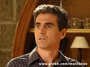 Abelardo pensa em uma maneira de impressionar (Foto: Malhação / TV Globo)
