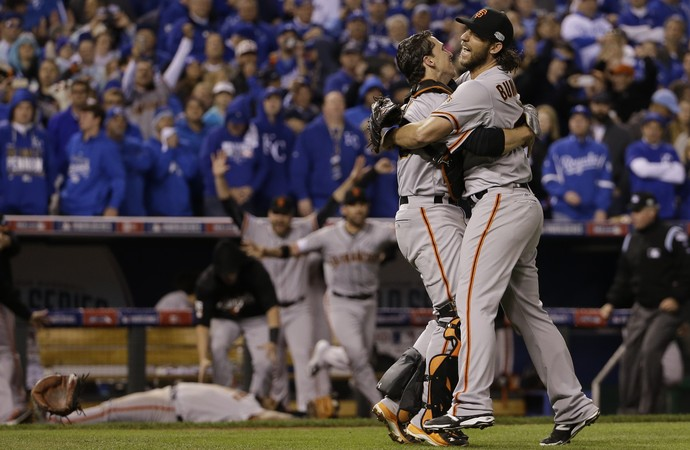 San Francisco Giants campeão MLB - AP (Foto: AP)