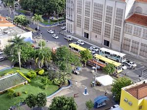 Centro de Cuiabá (Foto: Dhiego Maia/G1)