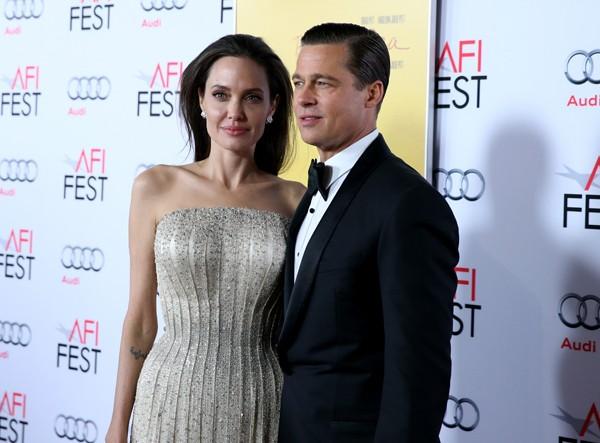 Angelina Jolie teria feito o pedido de divórcio para Brad Pitt (Foto: Getty Images)