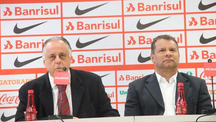 Celso Roth Fernando Carvalho (Foto: Tomás Hammes/GloboEsporte.com)