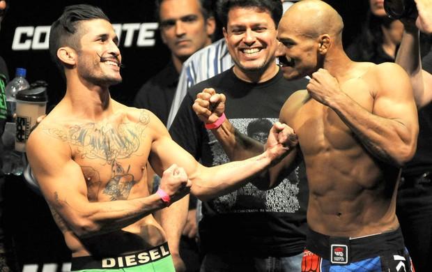 Ian McCall x Iliarde Santos Pesagem UFC RIO 4 (Foto: Andre Durão)