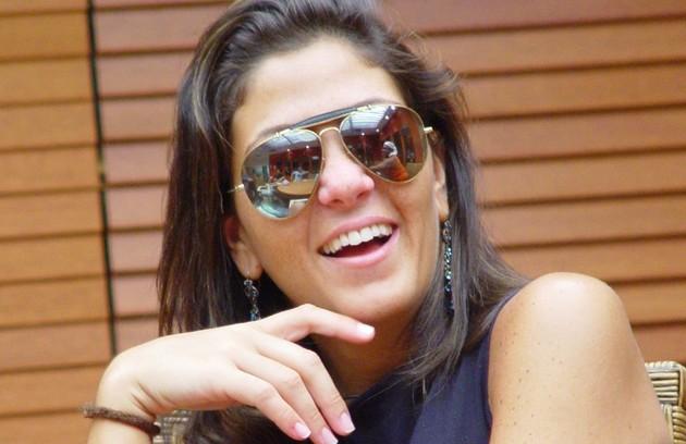Na primeira edição do programa, em 2002, Leka assumiu que sofria de bulimia (Foto: TV Globo)