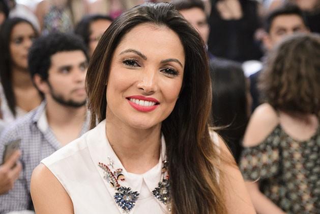 A apresentadora Patrícia Poeta (Foto: Divulgação/TV Globo)