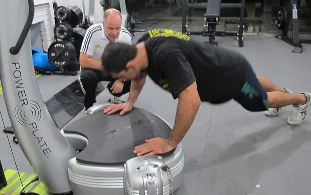 MMA Minotauro último treino (Foto: Adriano Albuquerque)