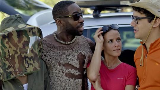 Michele e Brau tentam se livrar de vício e acampam com vizinhos