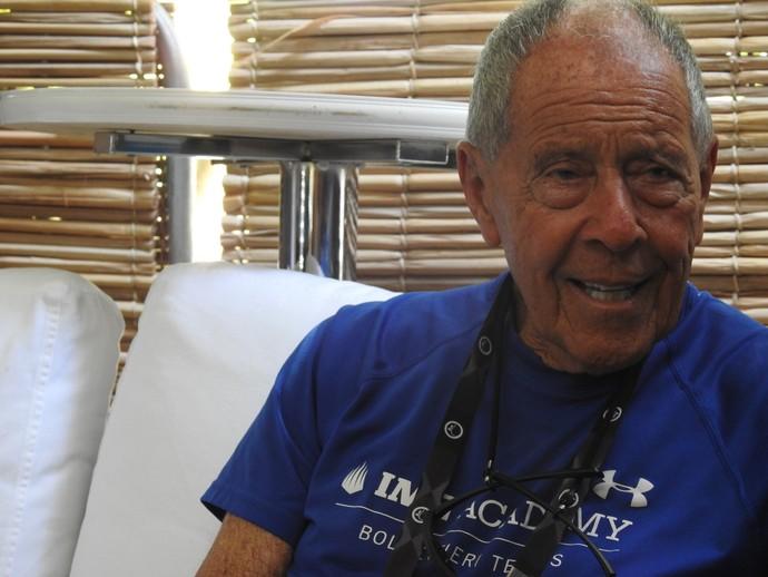 Nick Bollettieri Aberto do Rio (Foto: Thiago Quintella)