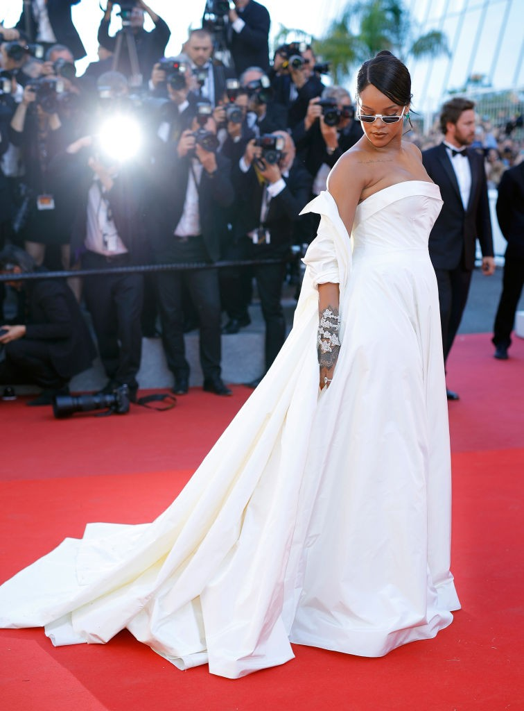Rihanna em Cannes  (Foto: Getty Images)