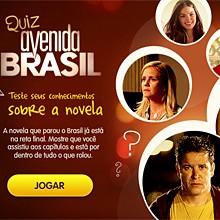 Sabe tudo de Avenida? Teste no quiz! (Avenida Brasil/TV Globo)