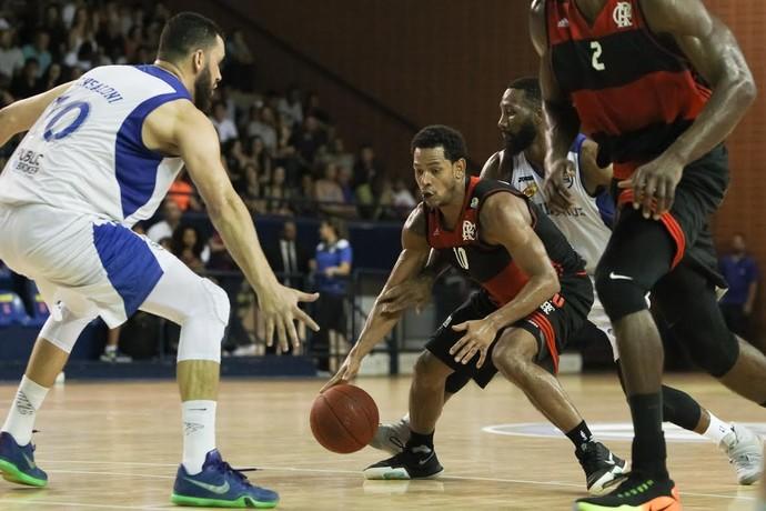 Flamengo x Pinheiros, NBB, basquete (Foto: Ricardo Bufolin/EC Pinheiros)