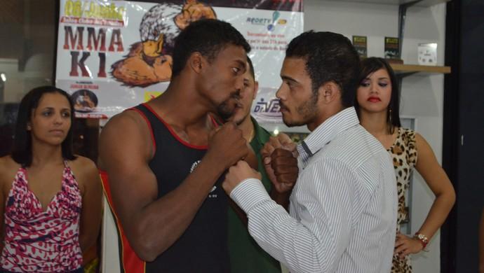 Diego Lima e André Mumber lutarão k1 (Foto: Dennis Weber)