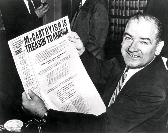 Joseph McCarthy, senador republicano pelo estado de Wisconsin (Foto: Divulgação)