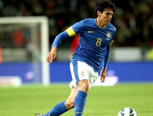 Kaká no amistoso do Brasil x Iraque (Foto: Mowa Press)