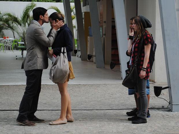 A galera do Quadrante vai ficar chocada com a surpresa (Foto: Malhação / Tv Globo)