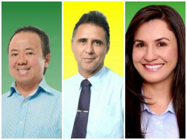 Candidatos a prefeito de Vilhena, RO (Foto: Arte G1)