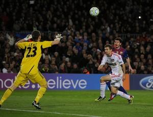 Messi, Barcelona x Bayer Leverkusen 2012
