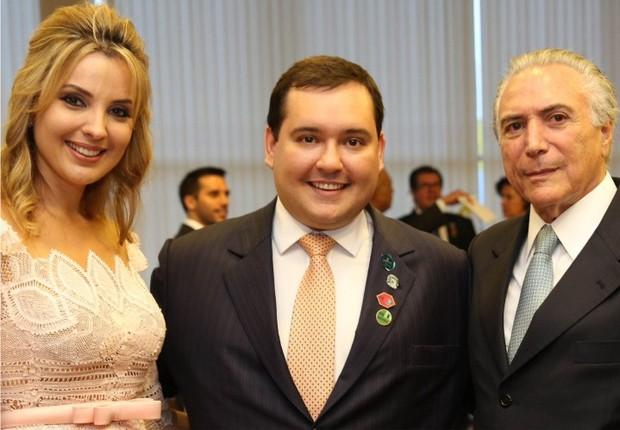 Manoel David (PSD) recebeu apoio de Michel Temer, mas perdeu a eleição em Tietê, terra natal do presidente (Foto: Reprodução/Facebook)
