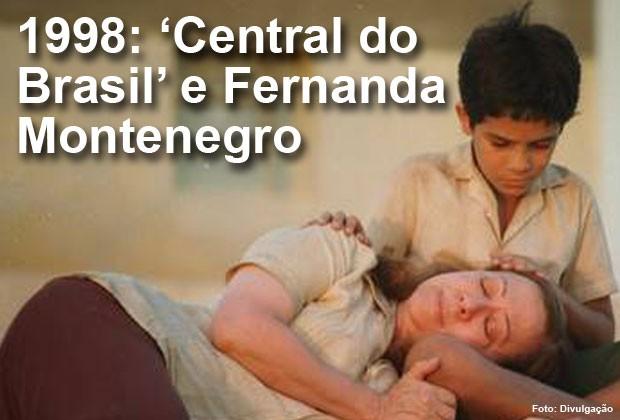 Em 1999, 'Central do Brasil' concorreu ao Oscar de melhor filme estrangeiro e Fernanda Montenegro, ao de melhor atriz (Foto: Divulgação)