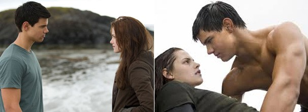 Bella descobre que Jacob é um lobisomen (Foto: Divulgação / Reprodução)
