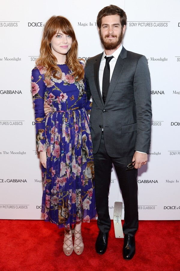 O atores Emma Stone e Andrew Garfield (Foto: Getty Images)
