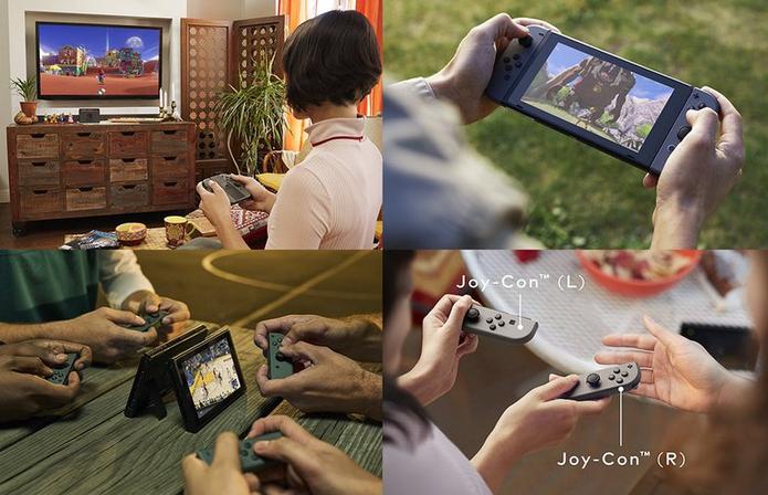 Switch chega em março, mas por enquanto só lá fora (Foto: Divulgação/Nintendo)