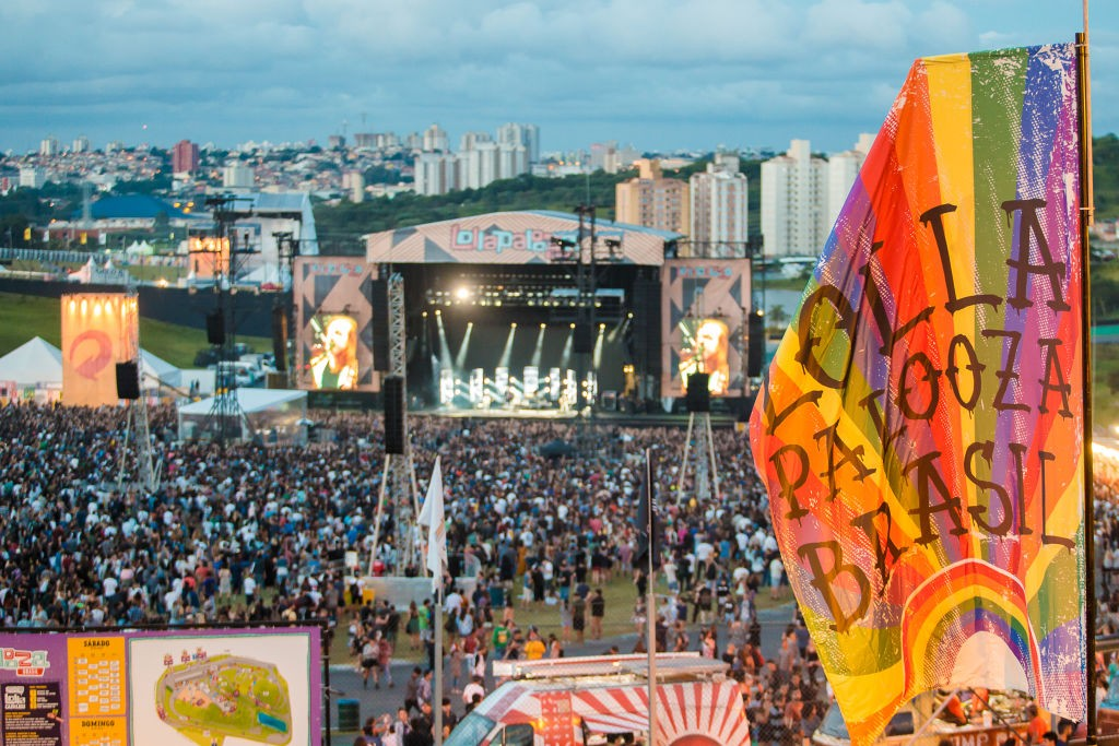 O público no Lollapalooza Brasil 2017 (Foto: Getty Images)