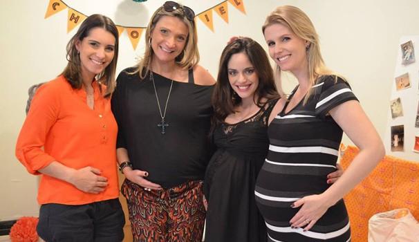 Rede Globo Rpctv Nadja Mauad E Janaína Castilho São As