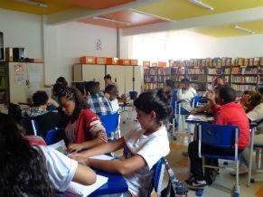 Sala de leitura (Foto: Divulgação/ GEAV)