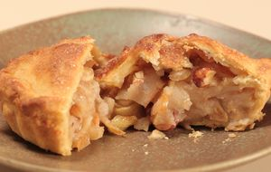 Torta de pera com esperiarias
