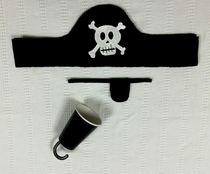 'Faça em casa' ensina a fazer adereços para sua fantasia de pirata (Foto: Tiele Nicolini/Gshow)